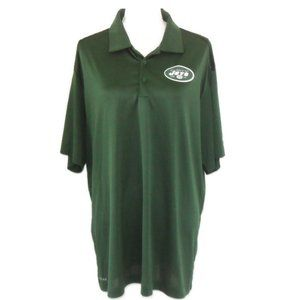 NFL Apparel NY Jets Dryfit Polo